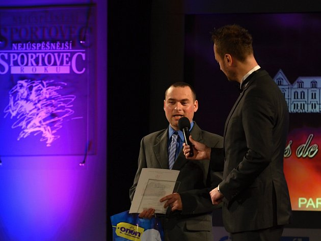Vítězem ankety Sportovec roku za rok 2014 se stal Martin Maivald.