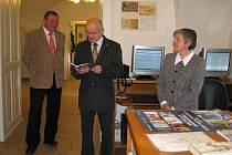 Týdne knihoven se zúčastnil i  starosta města Moravská Třebová.