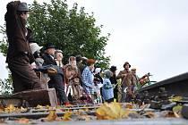 Historicky první živý obraz byl k vidění v Sebranicích u nejkratší železnice v České republice.