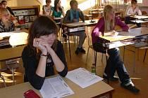 Gymnazisté ze Svitav trénovali na státní maturitu.