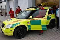 Záchranáři ve Svitavách mají nové auto.