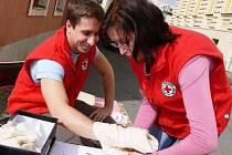 Světový den první pomoci ve Svitavách.