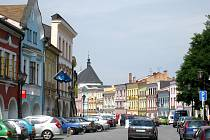 Svitavské náměstí Míru.