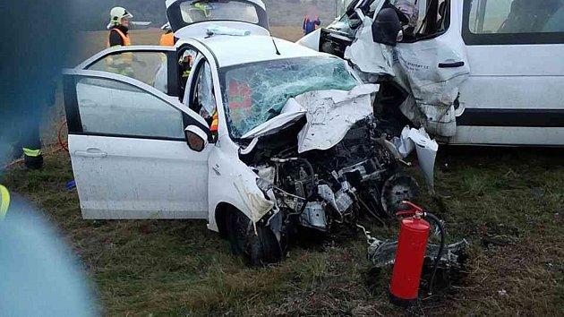 Tragická hromadná nehoda na I/35.