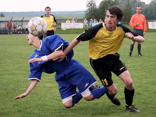 Čtyři góly potřebovali svitavští fotbalisté, aby porazili soupeře z České Třebové.