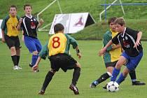 Fotbalová příprava starších žáků Svitav se Sigmou Olomouc.