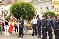 Ze života hasičského sboru v Poličce.