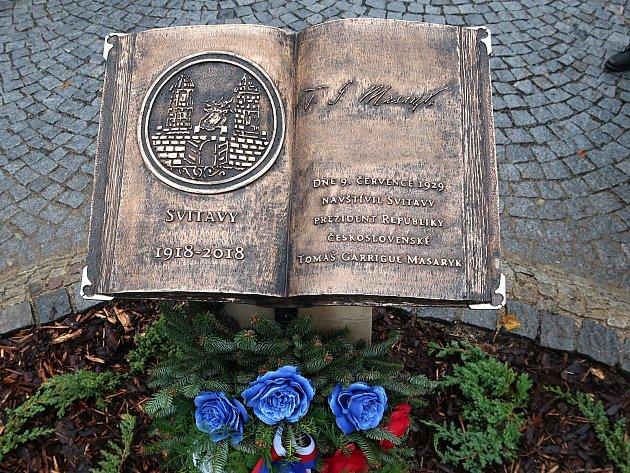 Oslavy 100 let republiky ve Svitavách.