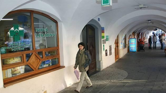 Lékárna ve Svitavách.