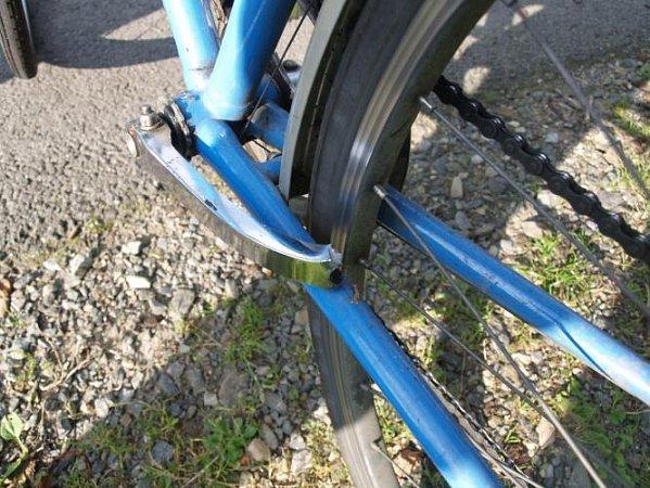 Poškozené kolo.