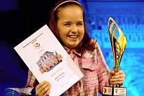 Jedna z oceněných. Poličská mistryně světa ve slalomu na skateboardu Karolína Machová.