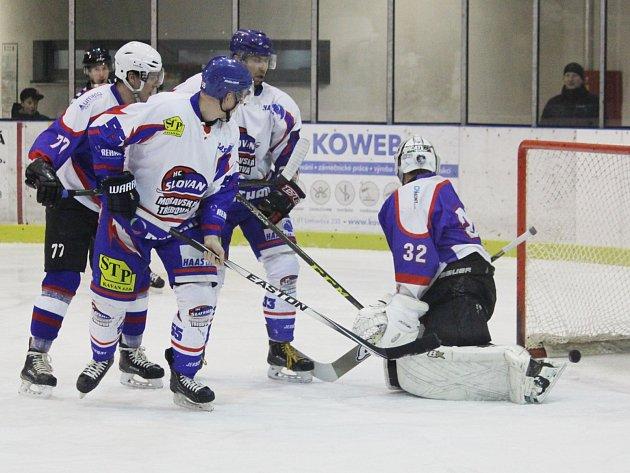 Tuhý boj moravskotřebovských a chotěbořských hokejistů v úvodním čtvrtfinále měl šťastnější konec pro domácí tým.