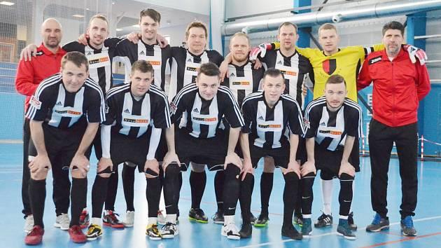 Bronzový celek celostátní ligy v sálovém fotbale pro sezonu 2018/2019: VPS Novabrik Polička.