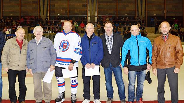 Uvedení osobností litomyšlského hokeje do síně slávy.