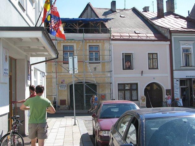 Rekonstrukce mateřské školky v Poličce