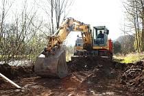 Do roku 2018 se má Moravská Třebová a okolní obce připravit na výstavbu poldru a zadržovacích zařízení. Město chce stavět i přístupové cesty a cyklostezku do Útěchova. Ilustrační foto: Deník
