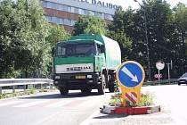 Frekventovanou křižovatku v Litomyšli by měl nahradit kruhový objezd.