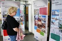 Výstava o Putování po historických městech Čech, Moravy a Slezska dorazila v pondělí do Svitav.