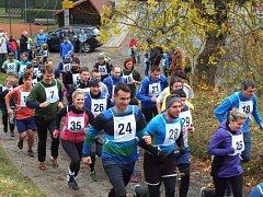Krosový běh má v Brněnci už dlouholetou tradici.