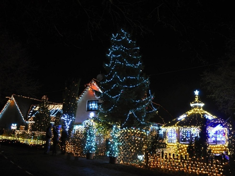 Světélka v Chotovicích.
