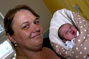 KLÁRA CHOCEŇSKÁ. Narodila se 13. dubna Kateřině Štaudové a Miloši Choceňskému ze Svitav. Měřila 50 centimetrů a vážila 3,5 kilogramu.
