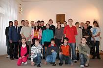 Ve Svitavách ocenili nejlepší sportovce za rok 2009. Mezi oceněnými byl i Pavel Daněk (druhý zleva).