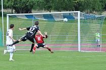 Fotbalový oddíl v Litomyšli uspořádal u příležitosti oslav sta let své existence turnaj ligových mužstev o pohár města.
