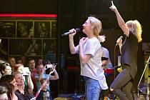 Bára Poláková svým koncertem nezklamala