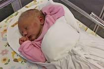 JINDŘIŠKA BILČAKOVÁ potěšila rodiče Věru a Martina, když se3. listopadu v 17.50 hodin narodila. Vážila 2,7 kilogramu a měřila 47 centimetrů. Rodina bydlí ve Svitavách.