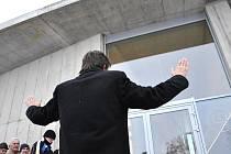 Otevření kostela v Litomyšli.