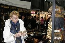 Kromě oblečení a obuvi si mohli návštěvníci veletrhu módy Styl – Kabo, prohlédnout i kolekce doplňků.