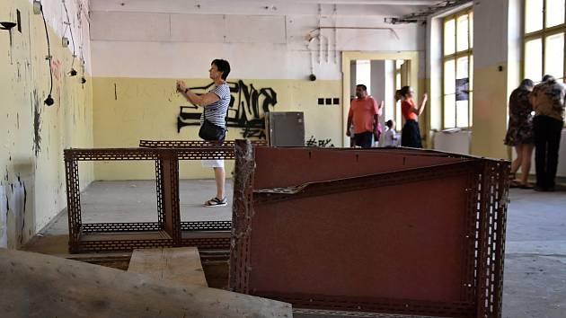 Lidé se mohli podívat do Augustovy tiskárny v Litomyšli.