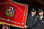 Slavnost svěcení praporu Okresního sdružení hasičů Čech, Moravy a Slezka