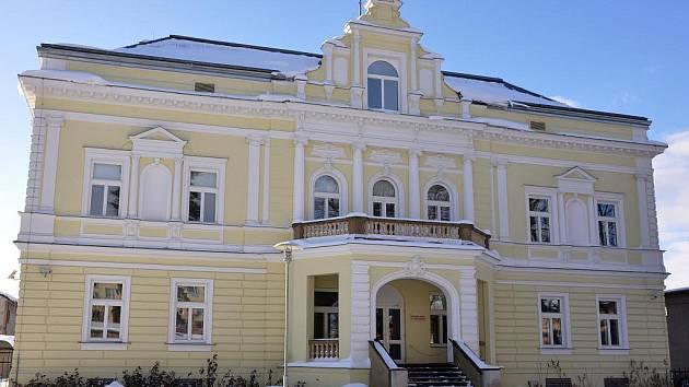 Budova soudu ve Svitavách.