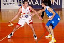 Vítězství nad USK Praha bylo těžce vydřené, domácí basketbalisté po většinu hrací doby prohrávali.