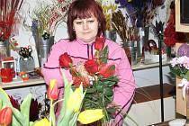 Krásnou květinou uděláte radost svým drahým polovičkám nejen ve svátek zamilovaných.