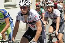 Cyklista kontinentální profistáje PSK Whirlpool–Author Hradec Králové Leopold König.