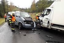 Nehoda u Šnekova, 16.10.2019