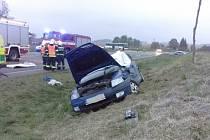 U Koclířova zahynula řidička.