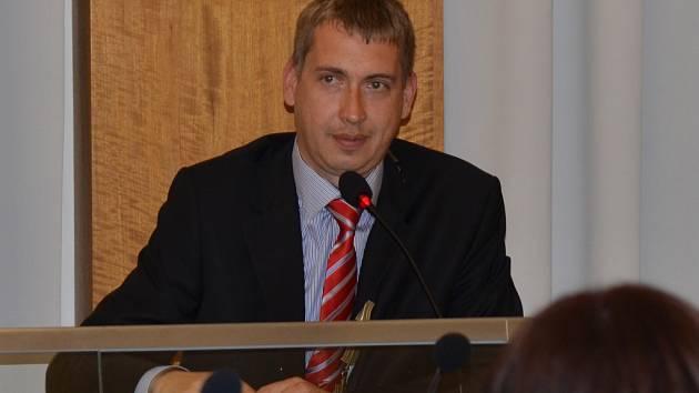 Starosta Svitav David Šimek.