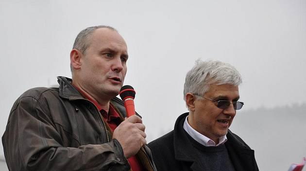 Ředitel mlékárny Tomáš Juřica.