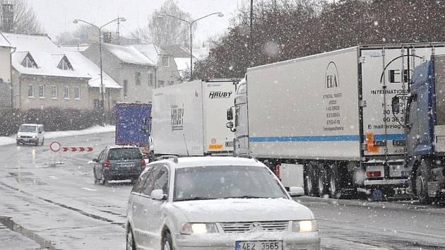 Situace na silnicích na Litomyšlsku.