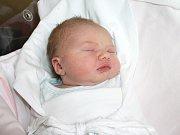 LINDA BAKEŠOVÁ. Holčička poprvé spatřila světlo světa 27. února ve 3.20 hodin v litomyšlské porodnici. Vážila 3,4 kilogramu a měřila 51 centimetrů. Tatínek Lukáš byl mamince Evě o porodu oporou. V Podlažicích u Chrasti se na Lindu těší téměř tříletý brášk