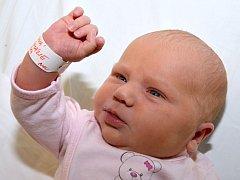 AMÁLIE VAŘEJKOVÁ. Mladší sestra Kubíka se narodila v ranních hodinách 28. ledna. S rodiči Kateřinou a Vojtěchem bude bydlet v Hradci nad Svitavou. Měřila 52 centimetrů a vážila 4,2 kilogramu.