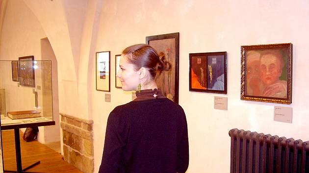 Reprezentativní soubor prací pozdního symbolika, mystika a vizionáře Josefa Váchala byl nabídnut veřejnosti.