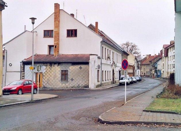 Purkyňova ulice ve Svitavách.