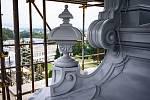 LANGROVA VILA ve Svitavách získává zpět svoji krásu a původní barvu.
