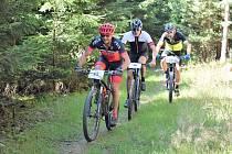 Na vychutnávání přírodních krás sádeckého okolí neměli ani cyklisté, ani běžci čas. Byl to pořádná dávka sportovní dřiny.