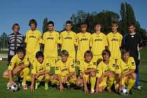 Divizní tým staršího dorostu Litomyšle v sezoně 09/10.