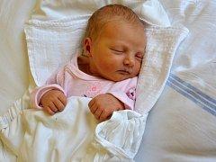 JOHANKA KALINOVÁ. Narodila se 19. března Petře a Václavovi z Pazuchy. Měřila 49 centimetrů a vážila 2,75 kilogramu.